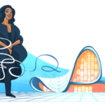 Zaha Hadid Google doodle honors first woman to win the Pritzker Architecture Prize
